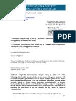 La Narrativa Transmedia como aliada de la Comunicación Corporativa- Estudio del caso Dropped by Heineken