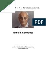 Arizmendiarrieta-Sermones