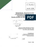 SB208.A4B6C.1 Aislamiento, Caracterización y Evaluación de Rizobios Para Leguminosas Forrajeras