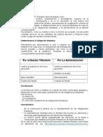 Administración tributaria y Facultades