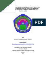 Sistem Informasi Persediaan Berbasis Komputer Untuk Perusahaan Penerima Fasilitas Tempat Penimbunan Berikat Dan Perusahaan Kemudahan Impor Tujuan Ekspor