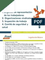 Órganos de representación de los trabajadores y trabajadoras en España_2017