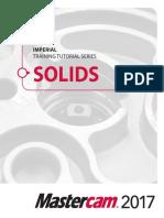Mastercam 2017 Solids Training Tutorial SAMPLE