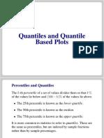 Lectures Quantiles