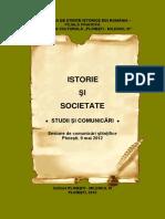 Istorie Si Societate... 2012.Coord. Zorilă P. 2016