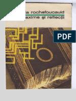 La Rochefoucauld - Maxime si Reflectii [BPT 1972].pdf
