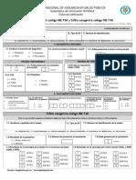 Sífilis Gestacional y Congénita Cod 750-740