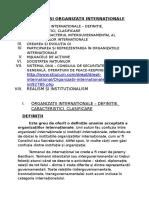 Instituții Și Organizații Internaționale