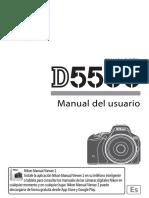 Manual D5500 Inicio