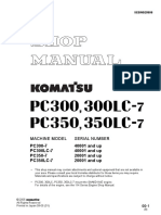 Shop Manual PC300LC 7_SN40001and Up