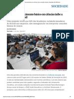 A Falta de Conhecimento Básico Em Ciências Inibe a Inovação No Brasil _ Atualidade _ EL PAÍS Brasil