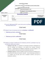 Examen Gestion Des Opérations SIC 2016 - ENSTAB Courseware