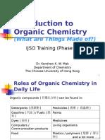 PhaseII Chem L2 OrganicChemistry Ppt