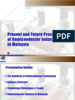 Present and Future Prospects of Semiconductor Industry