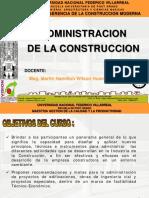 01 Introduccion a La Administracion de La Construcion UNFV 2016 FINAL
