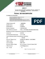 Ficha de Inscripcion CET II