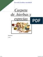 Varios - Carpeta De Hierbas Y Especias.pdf