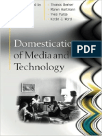 Berker Et Al - Domestication of Media and Technology