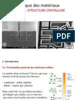 Chap1 Structure Cristalline - ENSTAB Courseware