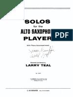 (Sax Alto) Solos For The Alto Saxophone Player.pdf