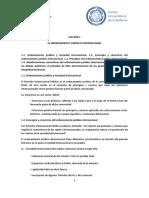 Lección 1. El Ordenamiento Juridico Internacional