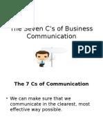 7 c's of Communication