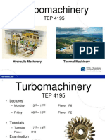 Introduction to Turbomachinery 2017