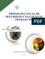 1.- Programa Anual de Seguridad y Salud en El Trabajo-2014