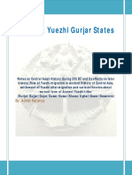 Ancient Yuezhi Gurjar States