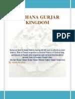 Kushana Gurjar Kingdom
