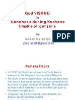God Vishnu in Kushana Kingdom of Gandhara