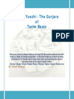 Small Yuezhi the Gurjars of Tarim Besin