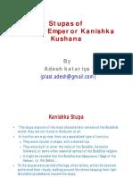 Stupas of Gurjar Emperor Kanishka Kushana