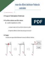 Chap3 Torseurs Des Actions Extérieux - Notion de Contraintes - ENSTAB Courseware
