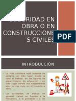 Seguridad en Obra o en Construcciones Civiles (1)