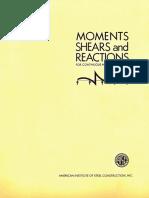 momentos y reacciones