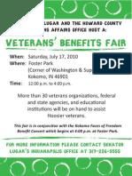 Kokomo Veterans Benefits Fair