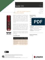 Pen Dt310 Data