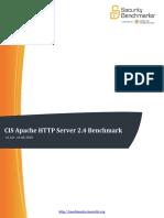 CIS Apache HTTP Server 2.4 Benchmark v1.1.0