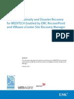 h12764 Meditech Recoverpoint Vmware Vcenter Srm Ra