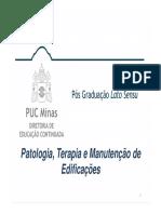 Patologia, Terapia e Manutenção de Edificações-ALVENARIA ESTRUTURAL
