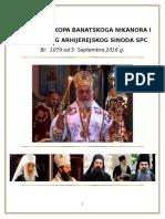 Odluka Episkopa Banatskoga Nikanora i Akta Sv Arhijerejskoga Sinoda Spc
