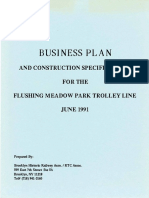 Flushing Meadow Park Historic Streetcar Study, Queens, New York, Circa 1991