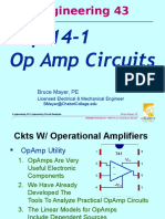 ENGR-43 Lec-14a Sp13 IDeal OpAmps
