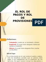 Roldepagos y Beneficios Sociales-contabilidad General-II