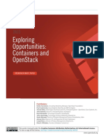 Containers and OpenStack