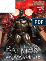 Batman - Arkham Unhinged 001