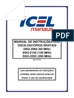 Osciloscopio DSO-2000 Manual  - Português