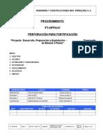 PT-OPPN-07 Rev-0 Perforación Para Fortificación
