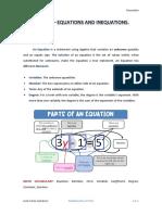 4 ESO Academics - UNIT 04 - EQUATIONS AND INEQUATIONS